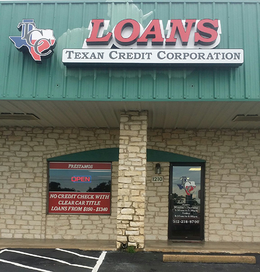 Round Rock Tx Texan Credit Corporation