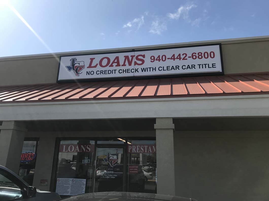 No Credit Payday Loans in Denton, TX